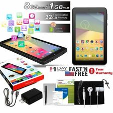 7 Inch Quad Core Tablet PC Android 5.1 Bundled 1.3GHz 32GB Dual Camera Xmas Gift
