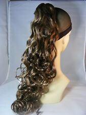 """Hairpiece Clip-On Color #14 Lt GoldN Brown 20"""" long by Mona Lisa"""