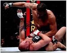 ANTONIO SILVA Signed Autographed UFC MMA 8X10 PIC. N