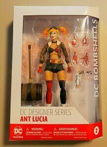 DC Designer Series DC Bombshells Ant Lucia Harley Quinn Action Figure New
