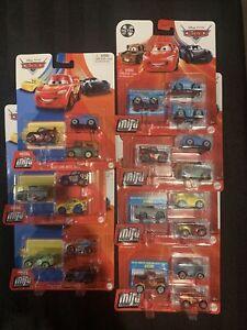 Disney Pixar Cars Mini Racers Lot Of 7 Brand New In Packs