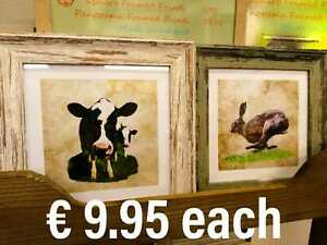 Animal Square Framed Prints Made in Ireland