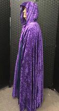 Purple velvet cloak PAGAN WIZARD LARP HALLOWEEN/fancy dress/Gandalf