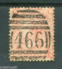 GRANDE-BRETAGNE, GB, 1865, timbre CLASSIQUE 32 PL 8, VICTORIA, oblitéré VF