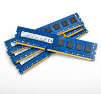 For SK Hynix 4x 8GB 2Rx8 PC3-12800 DDR3 1600MHz 1.5V DIMM Memory RAM Chips Test#