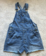 American Eagle Lightly Distressed Short Overalls Size XS