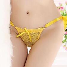 Women Lady Sexy-Lace Briefs Bandage Knicker G-string Thongs Panties Underwear