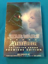 Star Wars Mastervisions Trading Cards Box Set - 1995 Topps - Factory sealed