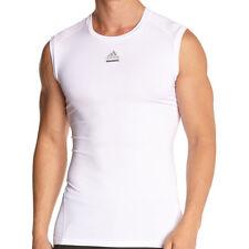 adidas Techfit Entry C&S Ärmellos Shirt Tank Herren white TF T-Shirt  Fitness