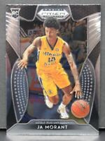 Ja Morant RC 2019-20 Panini Prizm Draft Picks Rookie Card #65 Memphis Grizzlies