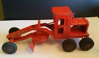 "Vintage 1950'S MARX Toy Lumar Power Road Grader Pressed Steel USA 16"" Long"