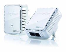 Home Plug Adapter Devolo Dlan Power Line Starter 500 Mbps 2 x LAN Ports White