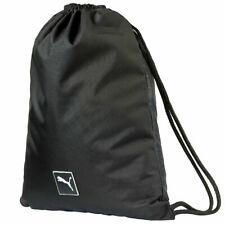 Puma Golf Tournament Black Carry Sack Drawstring Gym Bag - 073993 01