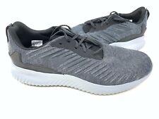 NEW! Adidas Mens Lite Racer Lace Up Shoes Charcoal/Black #CG5127 151K sz