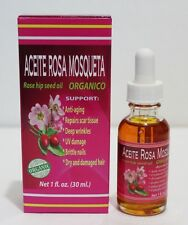 Organic Rose Hip Seed Oil 1 oz Aceite Rosa Mosqueta Anti Aging Oil MADE IN USA