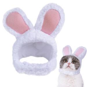 Dog Cat Cosplay Costumes Lovely Rabbit Ear Shaped Hat Cap Puppy Kitten Headwear