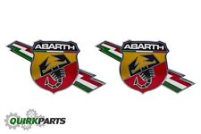 2017 FIAT SPIDER ABARTH EMBLEM BADGE NAMEPLATE LEFT & RIGHT BODY SIDE OEM FIAT