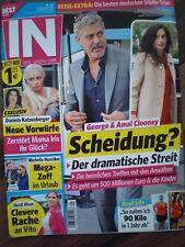 IN George Amal Clooney Michelle Hunziker Sylvie Meis Rafael van der Vaart U Glas