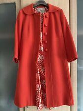 Milly NEW YORK Abrigo y vestido de seda UK 14