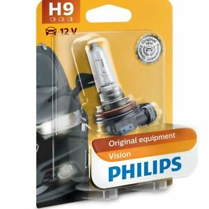 Philips H9 Vision 12v Replacement Upgrade Car BULB Single 12361B1
