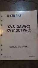 2007 Yamaha V Star 1300 OE Service manual PN LIT-11616-20-42S XVS13AW XVS13CTW