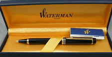 Waterman Leman 100 Black & Gold 0.7mm Pencil In Box - 1980's