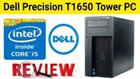GAMING PC DESKTOP COMPUTER Dell T1650  i5 16GB 128GB SSD+ 1TB  WIN10 WIFI GTX750