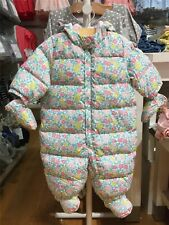 Baby GAP Warmest Down Snowsuit Hooded Mitten Booties ~ NWT ~ 6 - 12 Months