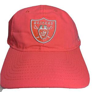 Raiders New Era 920 NFL Twenty One Pink Hat Worn On Set Of ballers Raider Nation