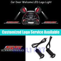 2Pcs 3D CAMARO SS Logo Car Door Welcome Projector LED Light for Chevrolet Camaro