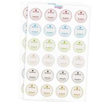 48 selbstklebende Haushalts-Etiketten Marmelade Einmach selbstgemacht Set Mix