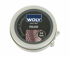 Woly Black Polish Tin 50ml 50 Ml