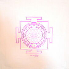 Sri Yantra Crystal Grid Cloth - 20x20