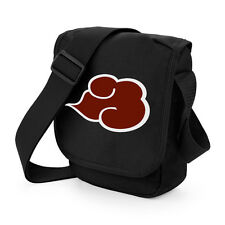 Naruto Akatsuki Cloud Mini Messenger Shoulder Bag Geeky Anime Manga Cosplay