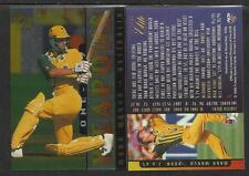 FUTERA 1996 CRICKET ELITE MARK WAUGH ONE-DAY WEAPONS CARD No 5