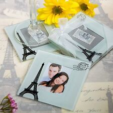 Eiffel Tower Paris Theme Coaster Set Favor Wedding Bridal Shower Gift Favors