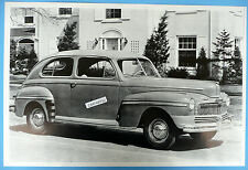 "12 By 18"" Black & White Picture 1946 Mercury 2 Door Sedan Side View"
