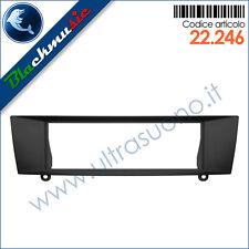 Mascherina supporto autoradio ISO Bmw serie 3 (E90 2005-2012) colore nero