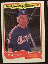 1985 FLEER LIMITED EDITION BUDDY BELL RANGERS