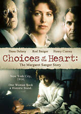 Choices of the Heart: The Margaret Sanger Story, Good DVD, Dana Delany, Henry Cz