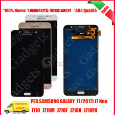 Display Schermo LCD + Touch Screen Per Samsung Galaxy J7 2016 J710 J710FN Vetro