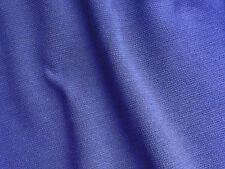 VINTAGE Tessuto Remnant grandi vestito viola materiale Tubolare Lavorato a Maglia Misto Lana 140cm