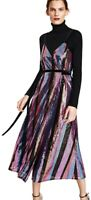 Zara Ladies Women's Maxi Wrap Dress Sequin Small BNWT Sold Out Rare Find blogger
