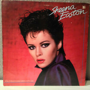 """SHEENA EASTON - You Could Have Been With Me - 12"""" Vinyl Record LP - EX"""