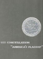 ☆* USS CONSTELLATION CV-64 WESTPAC DEPLOYMENT CRUISE BOOK YEAR LOG 1985 NAVY *☆