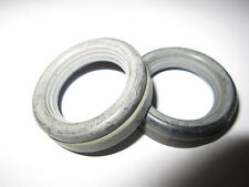 Vintage 2 Pcs Hard Plastice Eye Guards/Cup/Eyepiece (7G) 30 mm Height=9.4 mm