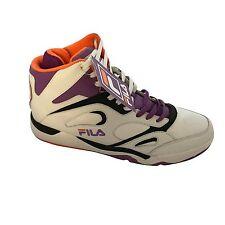 Fila 1VB90079-184 KJ7 White/Purple/Orange Rising Sun Basketball Mens Shoes SZ 13