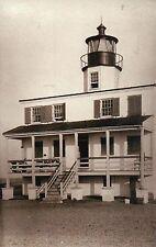 Point Lookout Lighthouse, St. Marys City Maryland, Potomac River MD --- Postcard