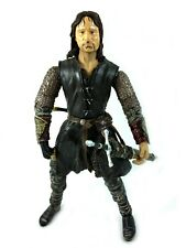 Helms Deep Aragorn Toybiz LOTR Lord Of The Rings Action Figure Complete 2003