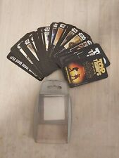 star wars episodes 1-3 top trumps specials card game 33 cards